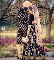Combination Of Blue by Photographer The Royal Wedding Photos Punjabi Culture Beige