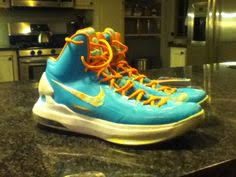 kd easter edition nike kd 8 elite in white blue solecollector nike