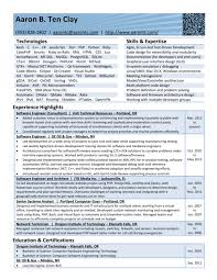 web architect resume résumé u2013 aaron u0027s web home