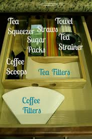 tea drawer an organized coffee station the silberez life