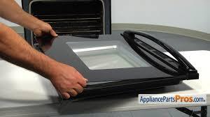 glass oven door shattered whirlpool wpw10118455 door glass appliancepartspros com