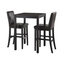 dining room small rectangular black painted oak wood dining table
