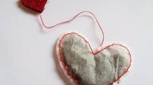 heart shaped tea bags make a pretty heart shaped tea bag diy home guidecentral