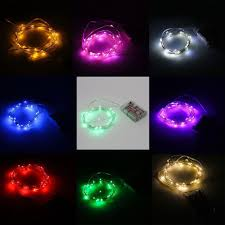 silver copper wire led starry lights string 3m 10ft 30leds fairy