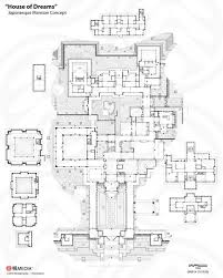 artstation house of dreams mansion floorplan phaeton holland