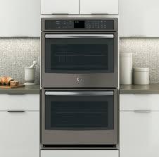 slate no fingerprints wall oven pt7550ehes ge appliances get