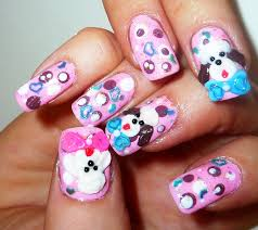 3d poodle dog nail design youtube
