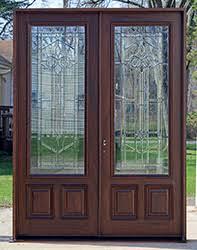 leaded glass french doors patio doors wooden french doors
