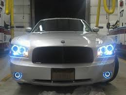 2012 dodge charger fog light bulb halo projector fog lights installed dodge charger forum