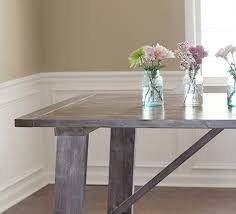 Knock Off Modern Furniture by West Elm Inspired Dining Table Mountain Modern Life