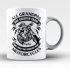 cool coffee mug only the coolest grandpas ride motorcycles coffee mug tea cup