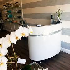 White Curved Reception Desk White Curved Reception Desk From Dir Salon Furniture Artsies
