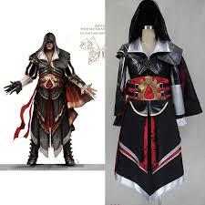 Assassins Creed Kid Halloween Costume Aliexpress Buy Assassins Creed 4 Costume Boys Ezio