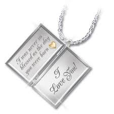 granddaughter jewelry dear granddaughter letter of sterling silver locket necklace