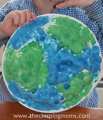 a fun earth day craft for kids the chirping moms