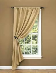 Lined Linen Drapery Panels Lined Burlap Curtain Panels Smocked Burlap Curtain Panel Smocked