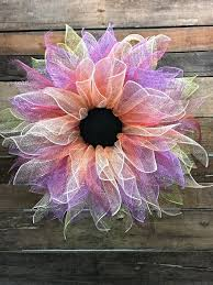 decorative wreaths for the home spring wreath summer wreath flower wreath spring door wreath