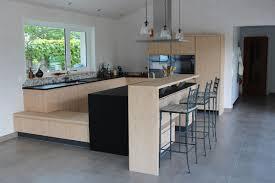 cuisine en l avec bar style intérieur maison 14 modele de cuisine americaine avec bar