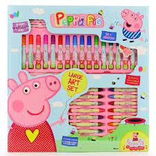 peppa pig large art set 14 00 hamleys for peppa pig large art