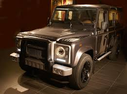land rover brown land rover defender tuning nirvana hofele design silver bear s