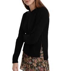 siege hilfiger hilfiger pull bakana noir mode femme vêtements pulls et gilets