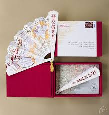 marriage invitation card design so save the date paper fan stationery inspiration