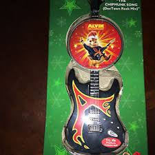 buy alvin and the chipmunks musical guitar ornament plays chipmunk