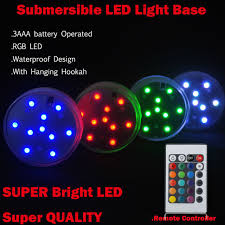 submersible led lights wholesale 20pcs wholesale 3aaa battery operated remote control 16colors