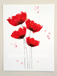 Cute Card With Watercolor Flowers With Hand Draw Sing I Love Cheap Painting Art Acrylic Buy Quality Art Ribbon Directly From