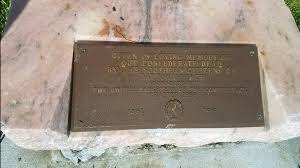 memorial plaques photos confederate memorial plaques removed from daytona