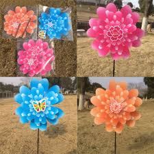 garden windmill spinners home outdoor decoration