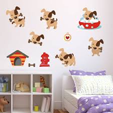 dog wall stickers home decorating interior design bath dog wall stickers part 15 puppy dog wall stickers pack