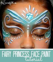 face painting tutorial using jewels by atop serenity hill perfect for costumes parties
