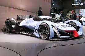hyundai supercar concept virtual racers compared bugatti hyundai vision gran turismo concepts