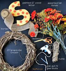 monogram wreath make a fall monogram wreath at tidymom jpg
