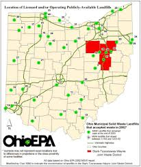 Wilmington Ohio Map by Landfill Watchdog Club 3000 Protecting Future Generations From