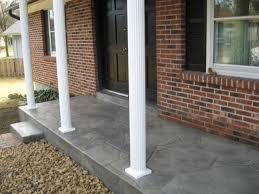 porch flooring ideas porch flooring ideas concrete karenefoley porch and chimney ever