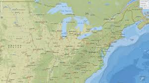 North East Usa Map by Pipeline Gis Maps For Crude Oil Natural Gas Mapsearch East Coast