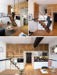 Living Room Ideas Small Space by 13 Stair Design Ideas For Small Spaces Contemporist
