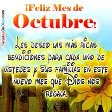 imagenes feliz octubre imágenes con frase para compartir del mes de octubre descargar