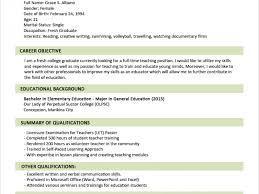 Sample Resume Format For Fresh by Surprising Sample Resume Format 4 For Fresh Graduates Two Cv