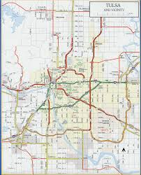Maps Okc Odot 2007 Highway Map Tulsa