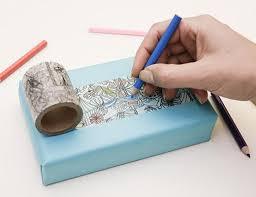 washi tape coloring washi tape kikkerland design inc