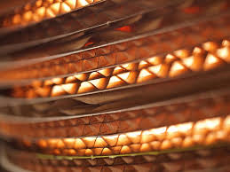 Paper Lighting Fixtures Pendant Light Fixtures Made Of Corrugated Paper Contemporary