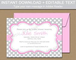 baby invitation etsy