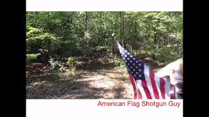 Backwards Us Flag American Flag Shotgun Guy