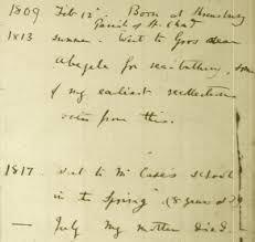darwin u0027s papers u0026 manuscripts