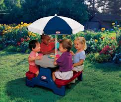 little tikes easy store jr picnic table inspiring junior kids picnic table with umbrella by little tikes