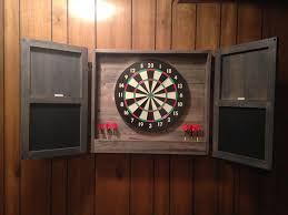 best dart board cabinet electronic dartboard cabinet plans best cabinets decoration