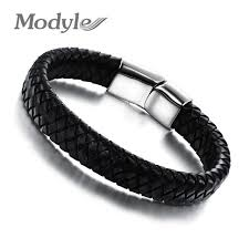 aliexpress buy 2016 new fashion men jewelry black cz aliexpress buy modyle 2017 fashion knitted genuine leather